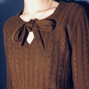 Burberry Bow Sweater size small